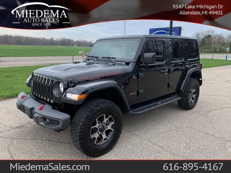 2019 Jeep Wrangler Unlimited for sale at Miedema Auto Sales in Allendale MI