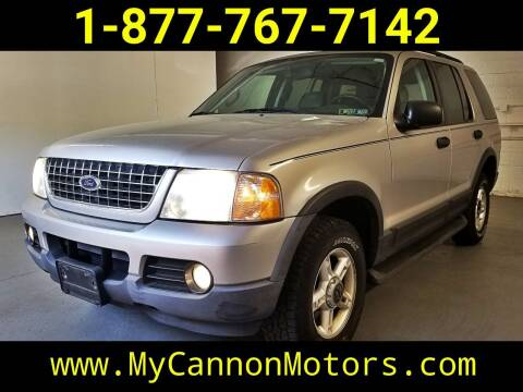 2003 Ford Explorer for sale at Cannon Motors in Silverdale PA