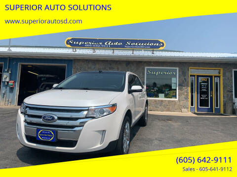 2014 Ford Edge for sale at SUPERIOR AUTO SOLUTIONS in Spearfish SD