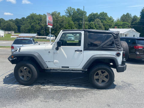 2009 Jeep Wrangler for sale at Stikeleather Auto Sales in Taylorsville NC