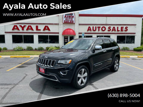 2014 Jeep Grand Cherokee for sale at Ayala Auto Sales in Aurora IL