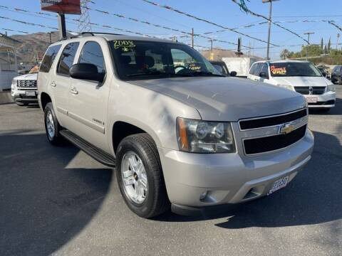 2008 Chevrolet Tahoe for sale at Los Compadres Auto Sales in Riverside CA