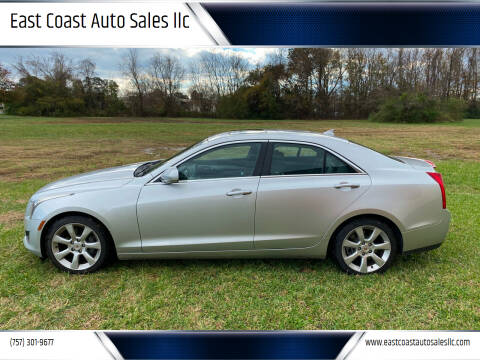 2013 Cadillac ATS for sale at East Coast Auto Sales llc in Virginia Beach VA