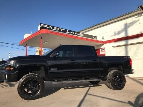 2018 Chevrolet Silverado 1500 for sale at FAST LANE AUTO SALES in San Antonio TX