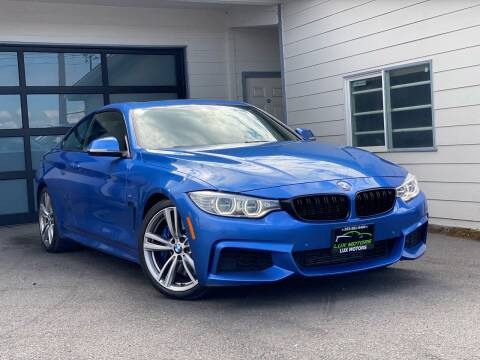 2014 BMW 4 Series for sale at Lux Motors in Tacoma WA