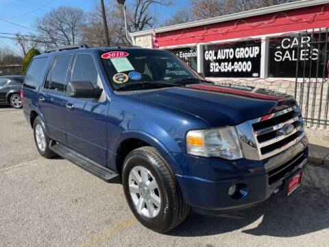 2010 Ford Expedition for sale at GOL Auto Group in Austin TX