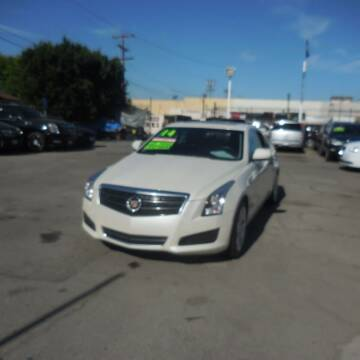 2014 Cadillac ATS for sale at Luxor Motors Inc in Pacoima CA