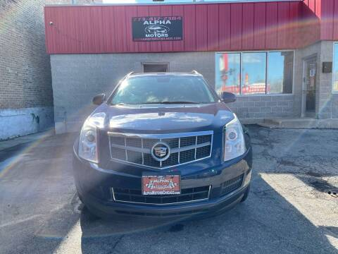 2010 Cadillac SRX for sale at Alpha Motors in Chicago IL