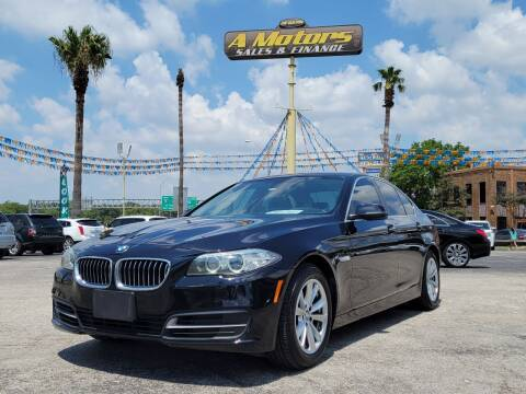2014 BMW 5 Series for sale at A MOTORS SALES AND FINANCE in San Antonio TX