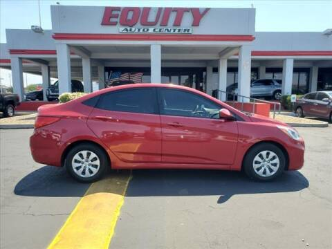 2016 Hyundai Accent for sale at EQUITY AUTO CENTER in Phoenix AZ