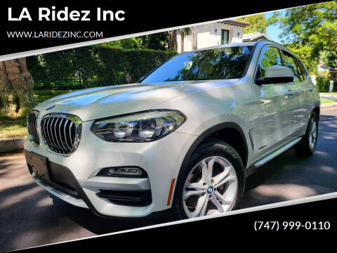 2018 BMW X3 for sale at LA Ridez Inc in North Hollywood CA