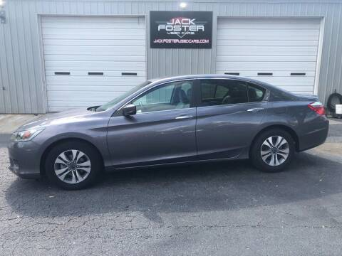 2014 Honda Accord for sale at Jack Foster Used Cars LLC in Honea Path SC