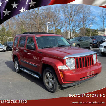 2009 Jeep Liberty for sale at BOLTON MOTORS INC in Bolton CT