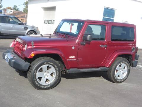 2012 Jeep Wrangler for sale at Price Auto Sales 2 in Concord NH