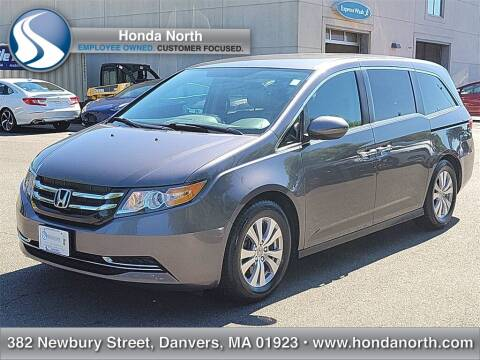2015 Honda Odyssey for sale at 1 North Preowned in Danvers MA