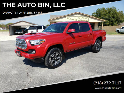 2016 Toyota Tacoma for sale at THE AUTO BIN, LLC in Broken Arrow OK