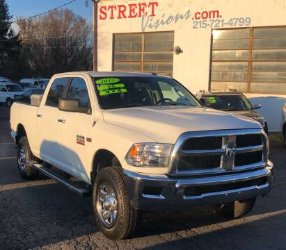 2015 RAM Ram Pickup 2500 for sale at Street Visions in Telford PA
