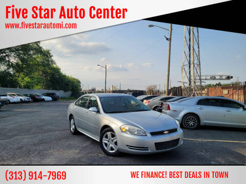 2011 Chevrolet Impala for sale at Five Star Auto Center in Detroit MI