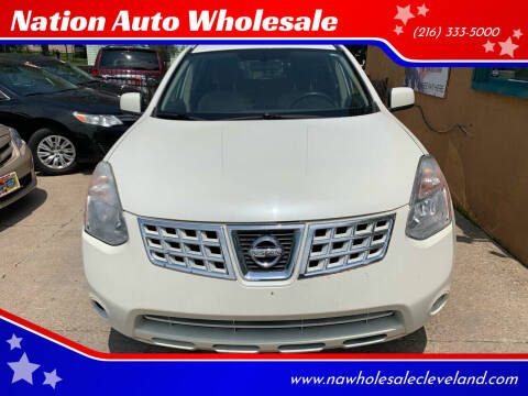 2009 Nissan Rogue for sale at Nation Auto Wholesale in Cleveland OH