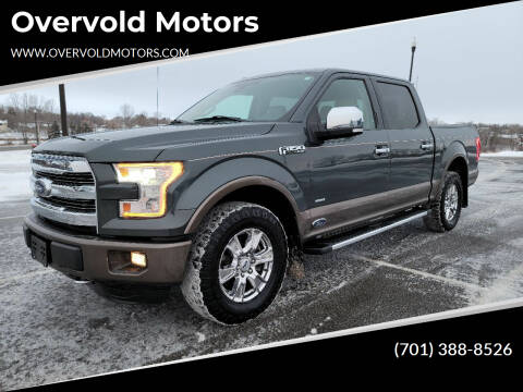 2015 Ford F-150 for sale at Overvold Motors in Detriot Lakes MN