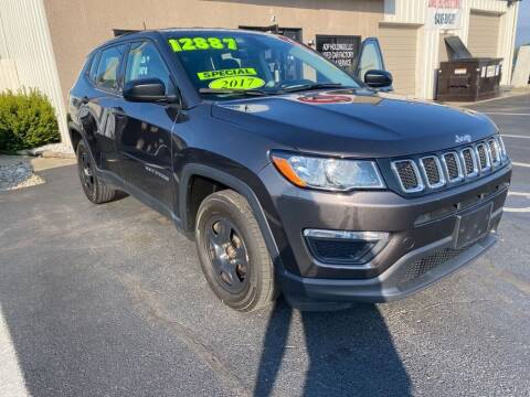 2017 Jeep Compass for sale at Used Car Factory Sales & Service Troy in Troy OH
