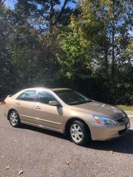 2005 Honda Accord for sale at Coastal Auto Sports in Chesapeake VA