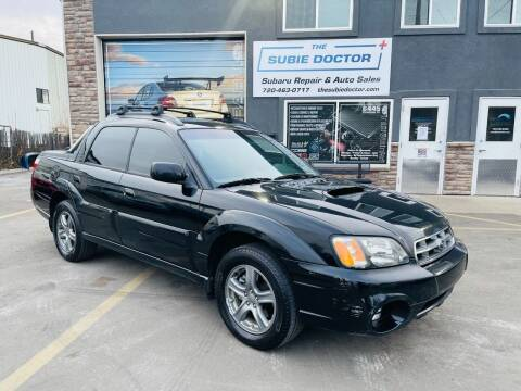 2006 Subaru Baja for sale at The Subie Doctor in Denver CO