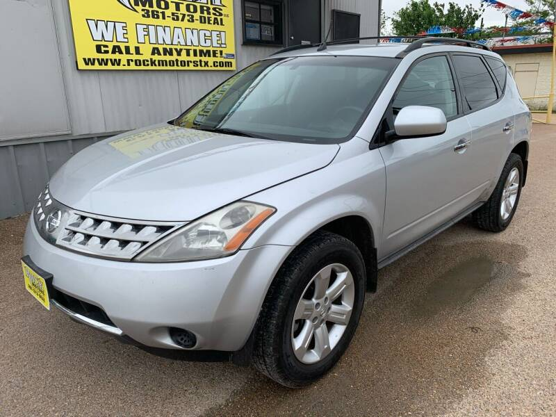 2006 Nissan Murano for sale at Rock Motors LLC in Victoria TX