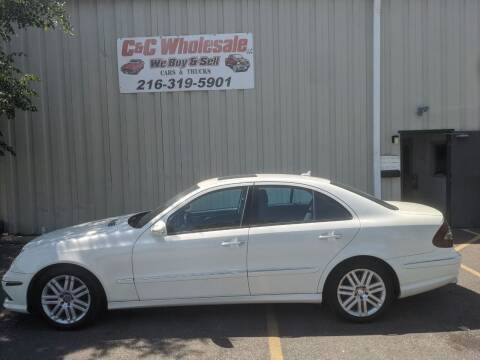 2009 Mercedes-Benz E-Class for sale at C & C Wholesale in Cleveland OH