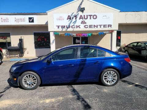 2012 Chevrolet Cruze for sale at A-1 AUTO AND TRUCK CENTER in Memphis TN