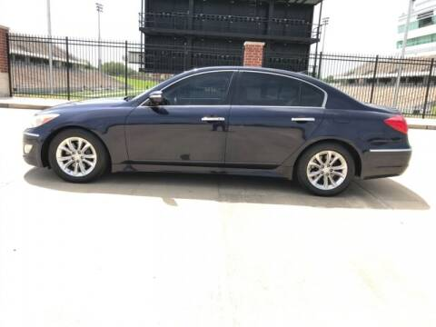 2013 Hyundai Genesis for sale at ALL AMERICAN FINANCE AND AUTO in Houston TX