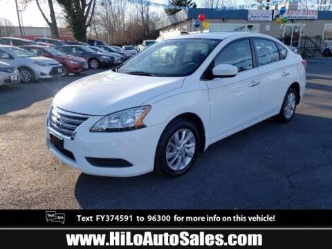 2015 Nissan Sentra for sale at Hi-Lo Auto Sales in Frederick MD