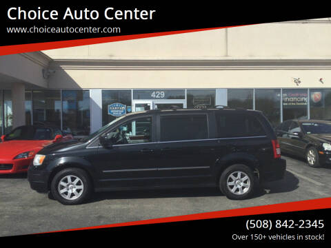 2010 Chrysler Town and Country for sale at Choice Auto Center in Shrewsbury MA