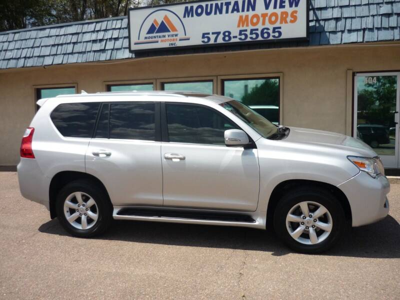2011 Lexus GX 460 for sale at Mountain View Motors Inc in Colorado Springs CO