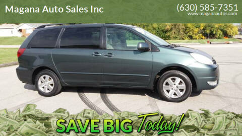 2004 Toyota Sienna for sale at Magana Auto Sales Inc in Aurora IL