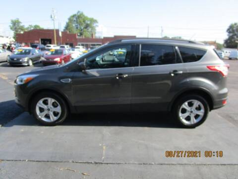 2016 Ford Escape for sale at Taylorsville Auto Mart in Taylorsville NC