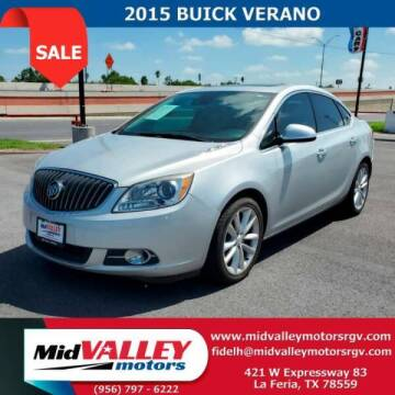 2015 Buick Verano for sale at Mid Valley Motors in La Feria TX