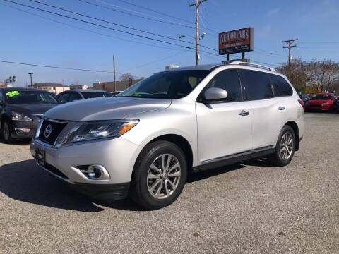 2013 Nissan Pathfinder for sale at Autohaus of Greensboro in Greensboro NC