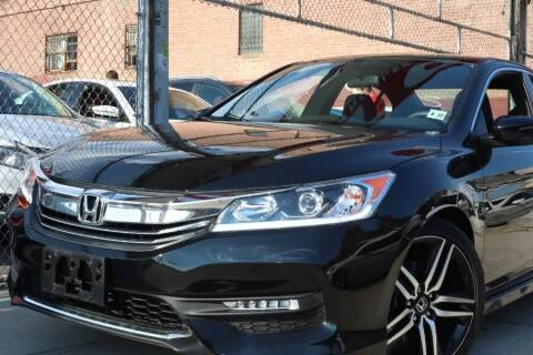 2017 Honda Accord for sale at HILLSIDE AUTO MALL INC in Jamaica NY