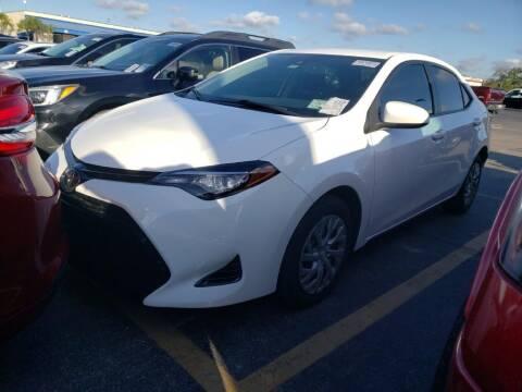 2017 Toyota Corolla for sale at Auto Remarketing Group in Pompano Beach FL