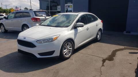 2015 Ford Focus for sale at Bi-Rite Auto Sales in Clinton Township MI