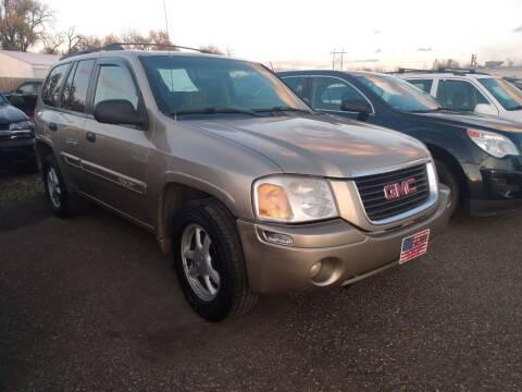 2004 GMC Envoy for sale at L & J Motors in Mandan ND
