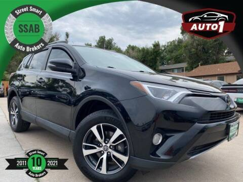 2017 Toyota RAV4 for sale at Street Smart Auto Brokers in Colorado Springs CO
