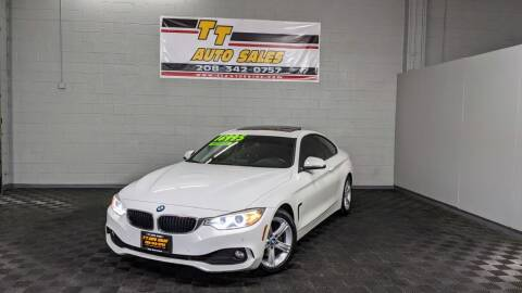 2015 BMW 4 Series for sale at TT Auto Sales LLC. in Boise ID