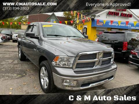 2009 Dodge Ram Pickup 1500 for sale at C & M Auto Sales in Detroit MI