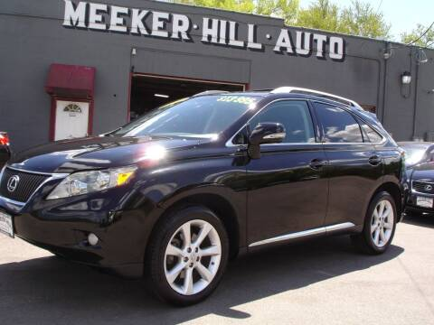 2010 Lexus RX 350 for sale at Meeker Hill Auto Sales in Germantown WI