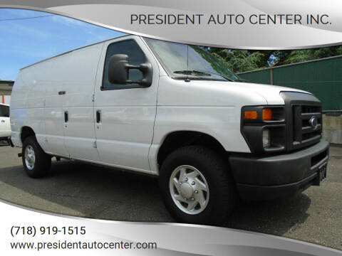 2012 Ford E-Series Cargo for sale at President Auto Center Inc. in Brooklyn NY