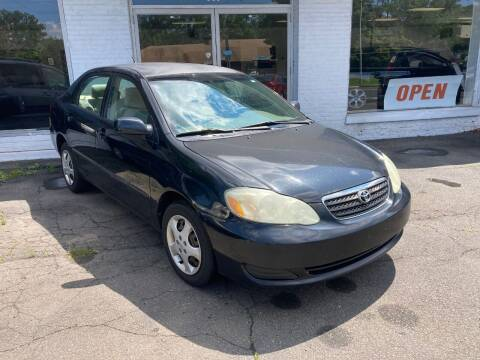 2005 Toyota Corolla for sale at ENFIELD STREET AUTO SALES in Enfield CT