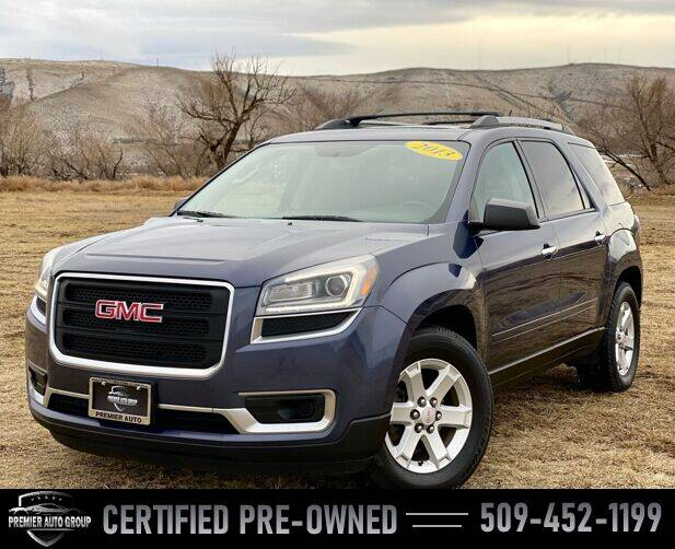 2013 GMC Acadia for sale at Premier Auto Group in Union Gap WA