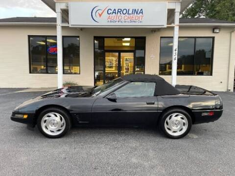 1995 Chevrolet Corvette for sale at Carolina Auto Credit in Youngsville NC